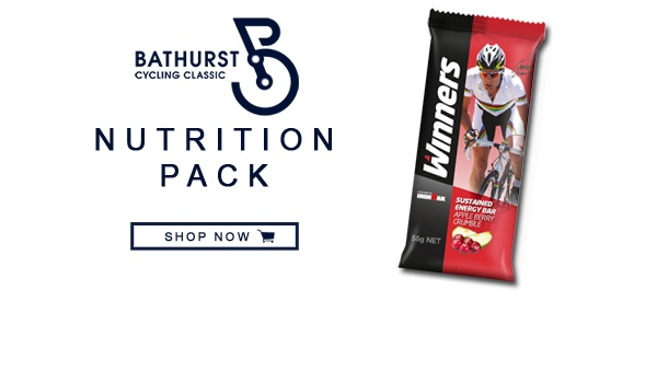 Winners Bathurst Cycling Classic Nutrition Pack Shop Now